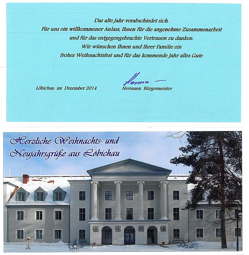 Weihnachtsbrief Hermann